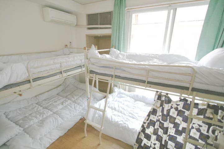 Female Only 4 bed dorm (1), Toshima-ku  - Toshima-ku - Byt