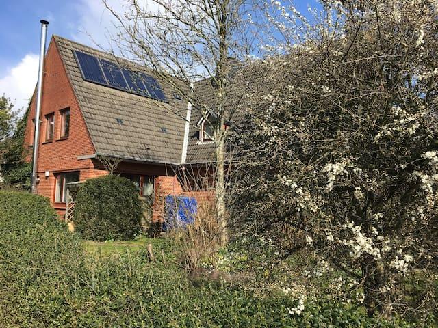 Gemütliches Appartement mit Gartenmitnutzung