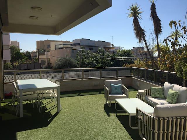 Luxury Home- Sunny Garden,Tel-Aviv - Tel Aviv - Lägenhet