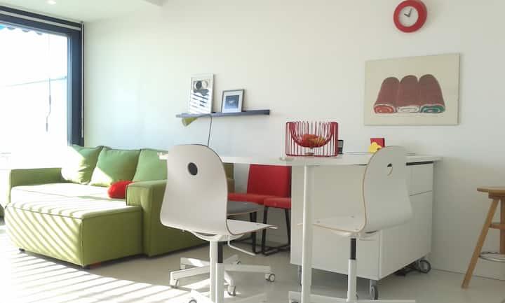 Felújított lakás terasszal/renewed apartm.+terrace