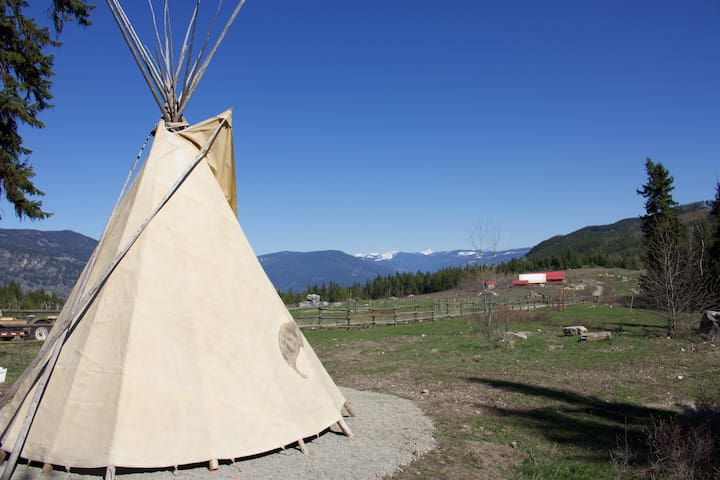 Bear Valley Highlands tipi lodge - Lumby - Tipi