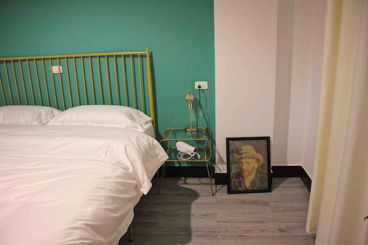 【砂•home】紫陶街 建水古城 广慈湖 舒适北欧大床房「3-3」