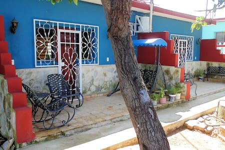 Casa Buenavista-Ecoturismo Nicaro (Room Saetía) - Nicaro - Huis