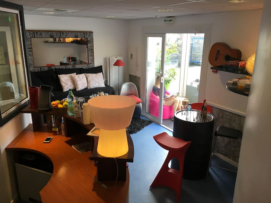 Spotsleeping c2l4 room anglet chambre d 39 amour for Restaurant chambre d amour anglet