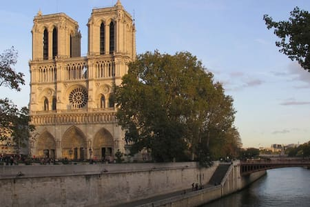 Notre Dame, Central and Romantic - 巴黎 - 公寓