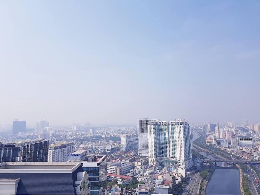 THE VIEW FROM ROOFTOP
