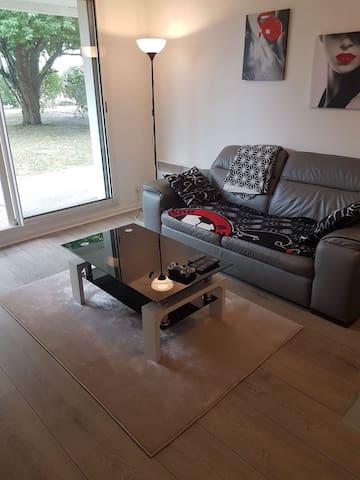 Appartement 45 m2 avec jardin Mérignac