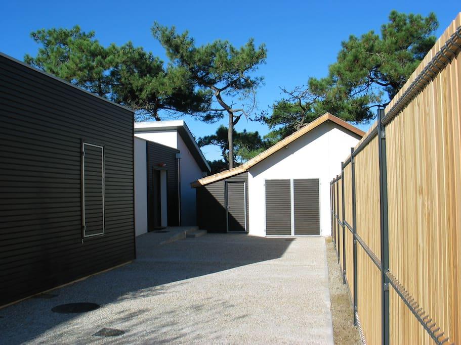 Garage et local à vélo