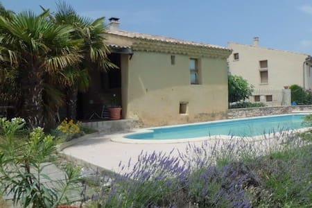 Drôme Provençale,calme,vue sur le mont Ventoux - La Baume-de-Transit - Villa
