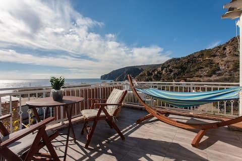Marinakis Sougia,Panoramic Sea View Terrace Studio