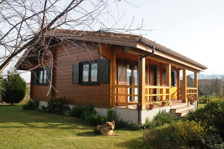 Wooden family friendly cottage in Rias Baixas - Ribadumia - House