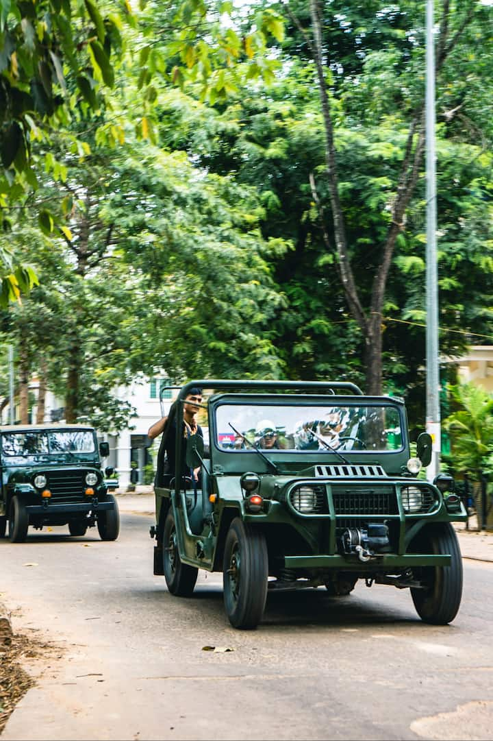 Our Day Tour by  Jeep