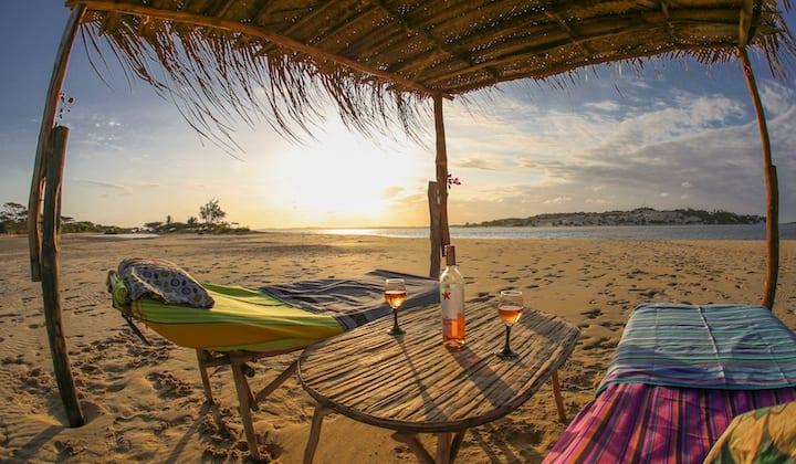 Beach front banda -  Manda Lamu