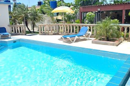 Room1 (Habana) pool and beach near Havana
