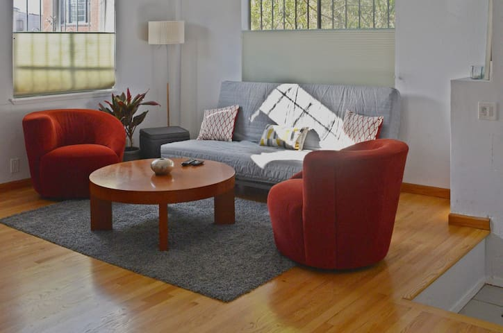 Private flat: Spacious, convenient Bay Area locale - Oakland - Appartement