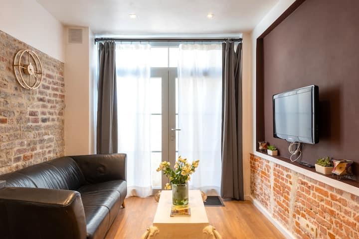 Brussels Sunny Studio Residence - EU AREA