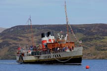 PS Waverley visits Tighnabruaich throughout the Summer months- why not take a trip?