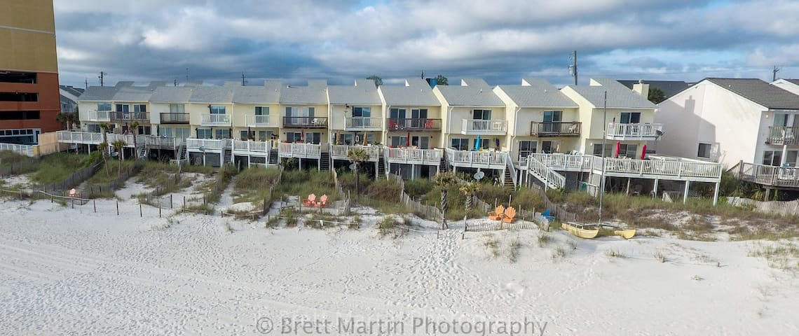 WALK off YOUR Deck to Sand REAL DEAL pets - Panama City Beach - Villa
