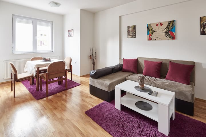 Comfy Central Station Apartment