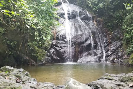 Private rooms in Naranjal close to great waterfall