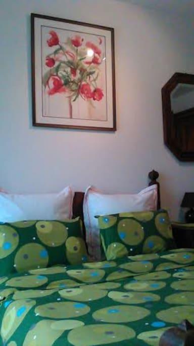 La chambre.