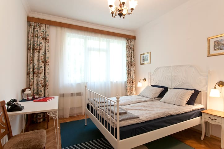Charming Old-Style Sofia Flat