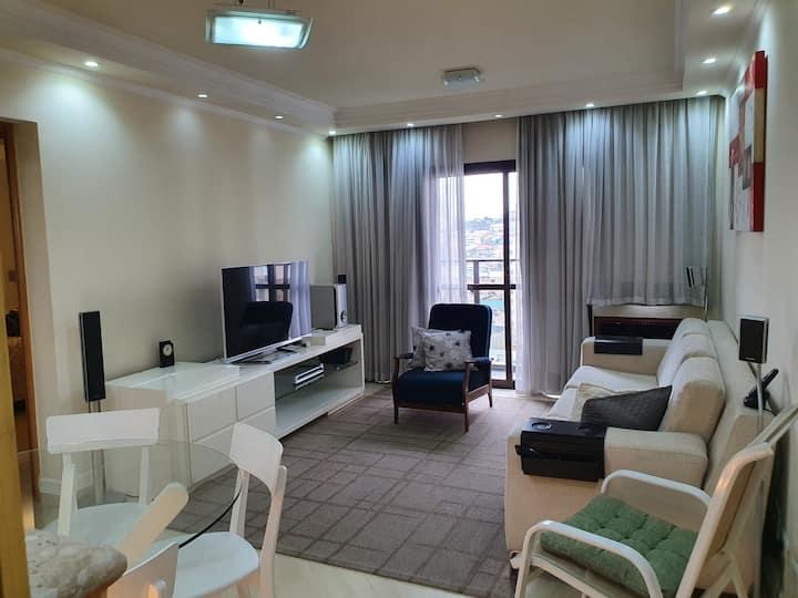 Apto em Apart Hotel no Centro de São Bernardo