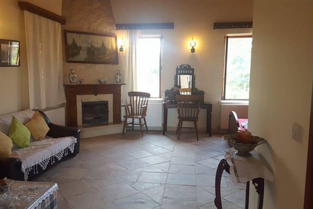 Bedroom 1 - fireplace