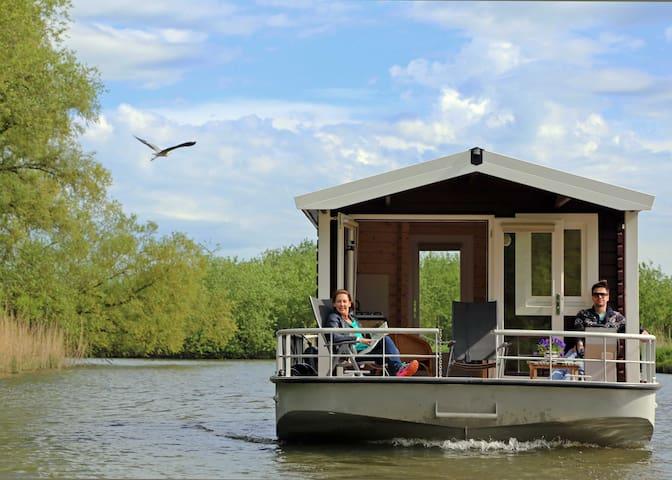 Blokhutboot in Brabante Biesbosch - Alem - Boot