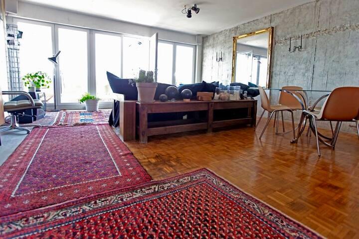PANORAMA Yser / Downtown BXL - Loft style