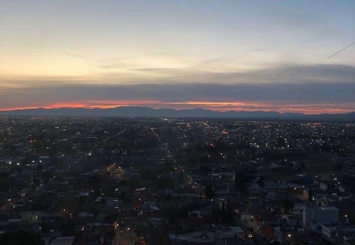 Loft con vista panorámica de la ciudad de Durango