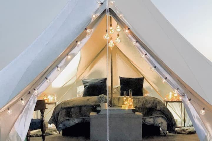 Glamping In The Vines - Shiraz Tent
