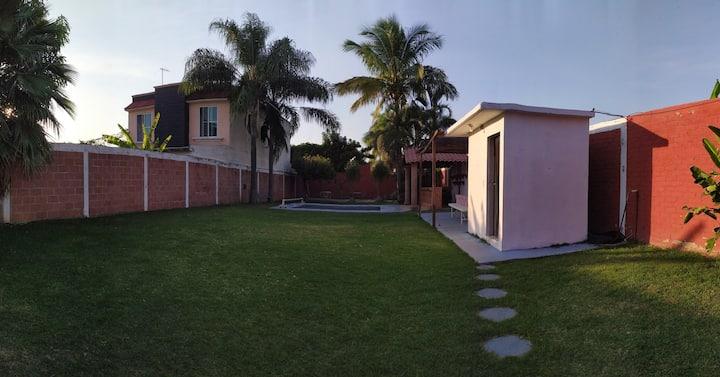 Amplia casa en Cuautla para fin de semana