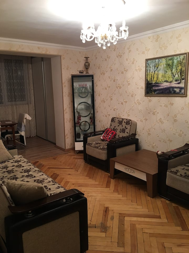 Baku city apartment central location.