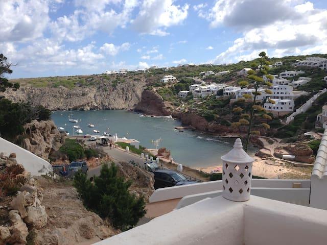 Pretty chalet with seaviews in Cala Morell,Menorca - Ciutadella de Menorca - Bungalo
