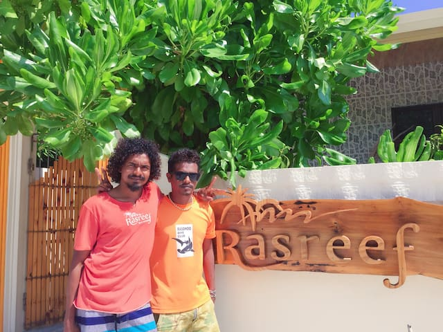 Rasreef Rasdhoo Maldives马尔代夫民宿 - Rasdhoo - Bed & Breakfast