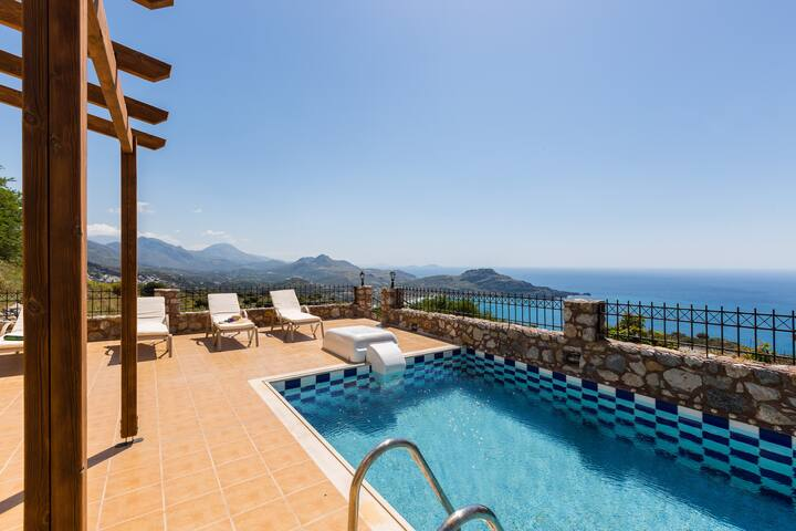 Villa Michalis, view to Libyan sea!