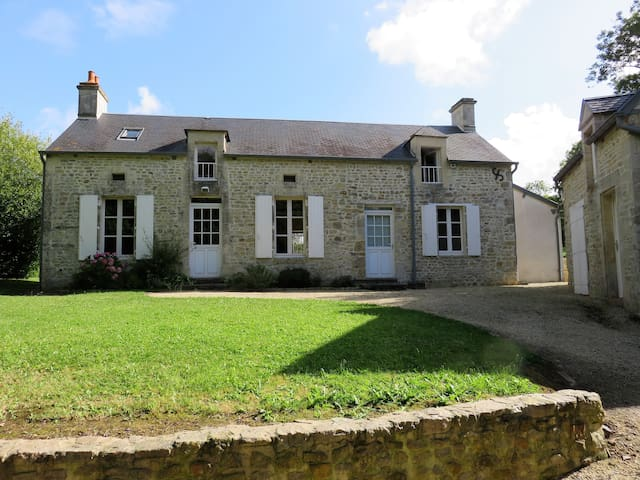 Charming house in Normandy (France) - Juaye-Mondaye - Huis