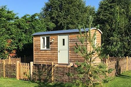 Shepherd's huts are one of the most luxurious types of retreat to spend a glamping holiday at.