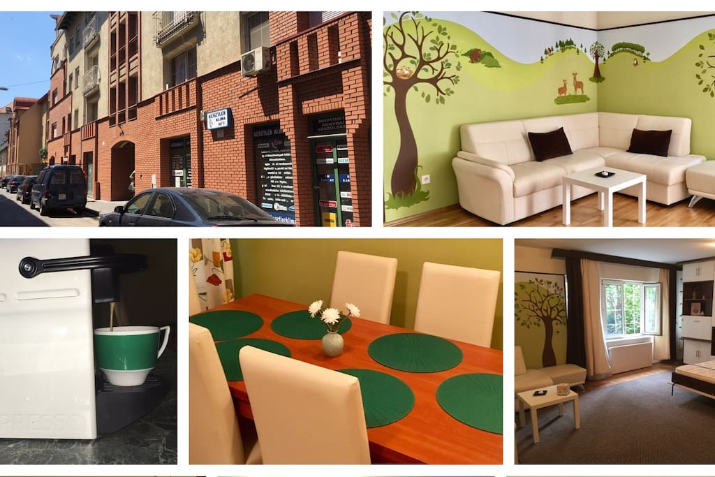 Vertika-land**** in the heart of Budapest - the ideal apartment for you <3