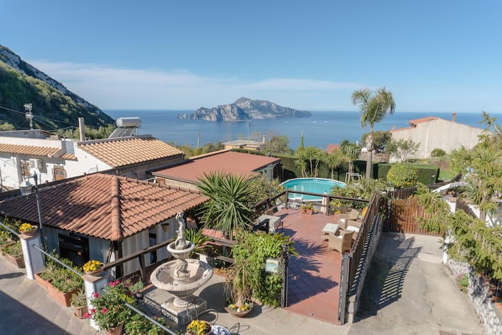 The garden on Capri, with private pool - Termini - Villa
