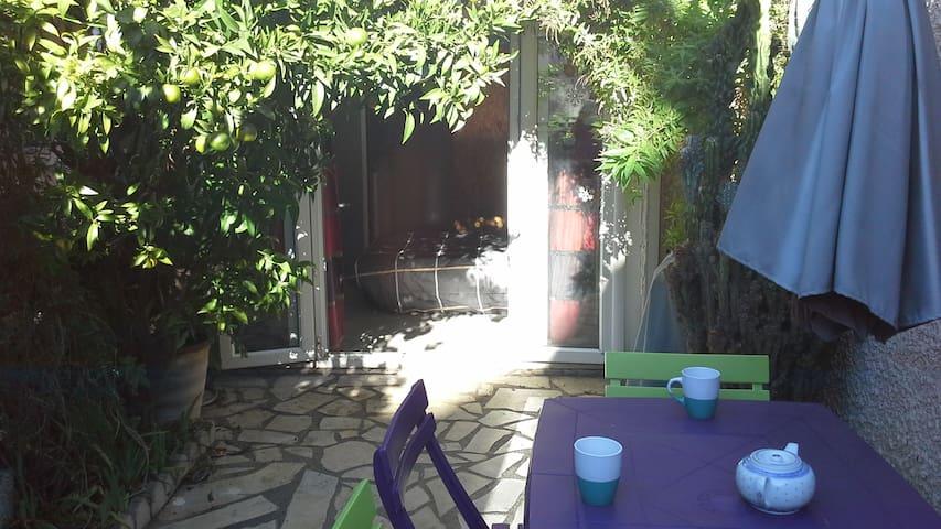 studio a mi chemin mer et mont st clair - Sète