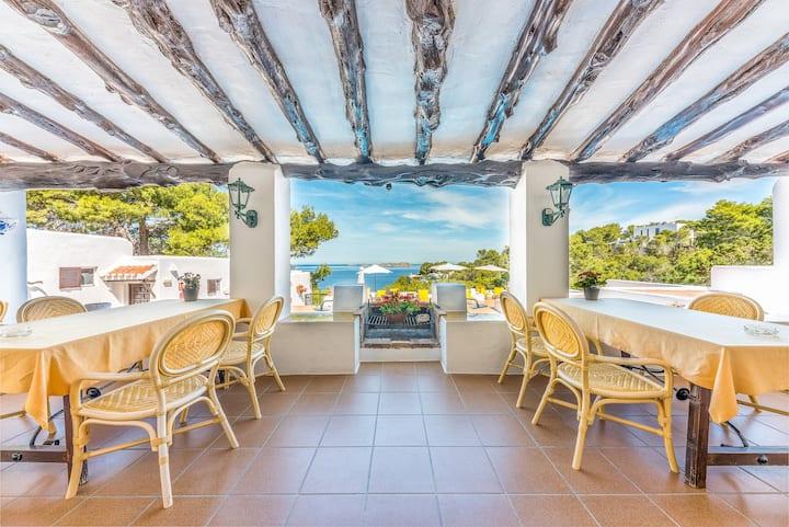 Hostal Cala Moli vistas al mar San Jose Ibiza