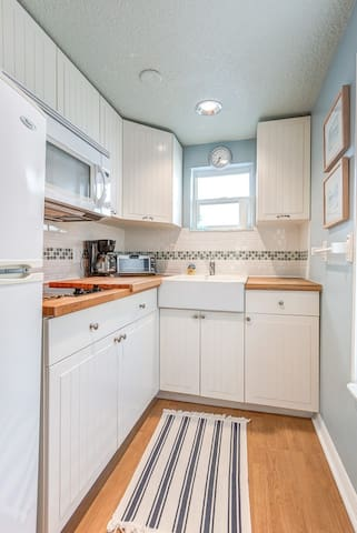 Small fully equipped kitchen