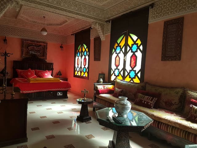 The Entire Floor of the RIad + Free Breakfast - Meknes
