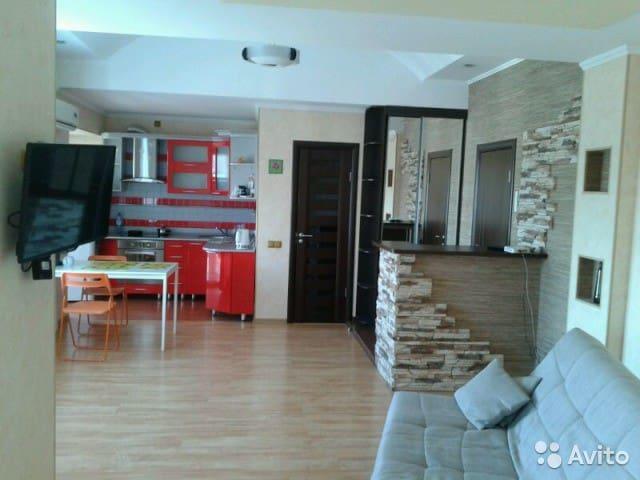 1-комнатная квартира студия  в центре - Barnaul - Apartamento