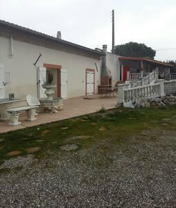 Chambres dans ferme isolée - Montesquieu-Lauragais