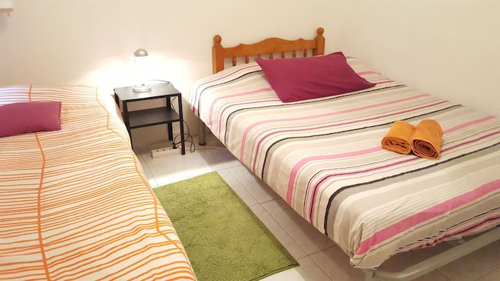 Gaudi Double Room+Centric +WiFi