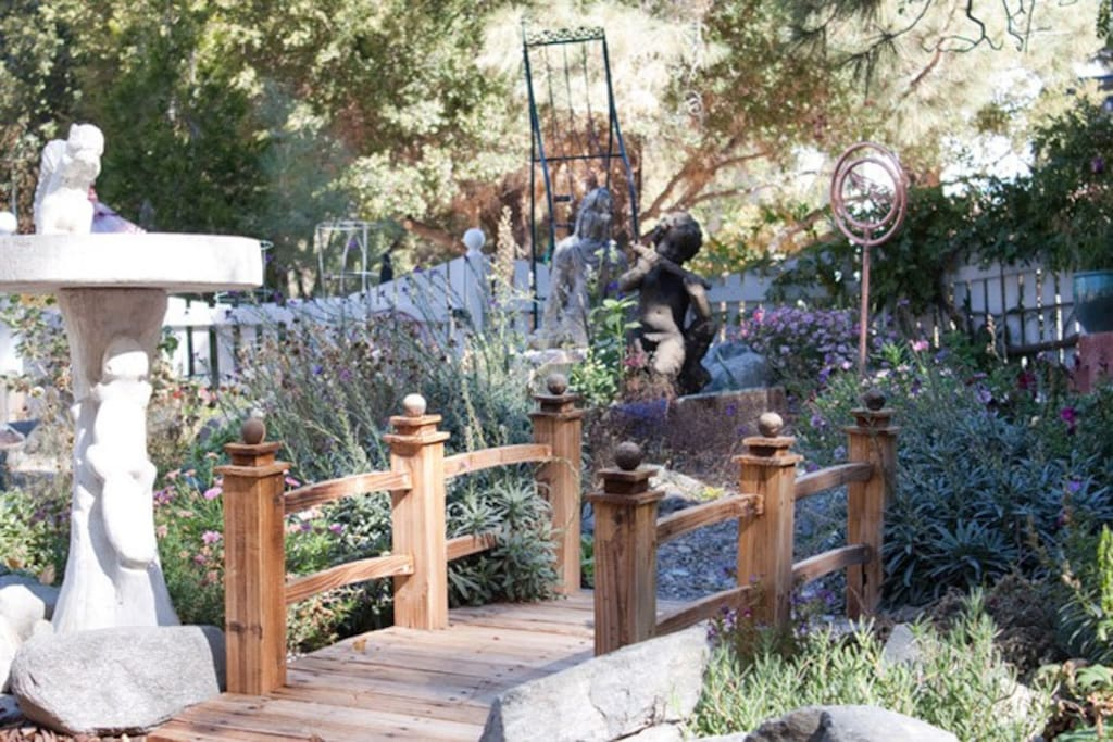 Explore nearly an acre of themed gardens during your visit...