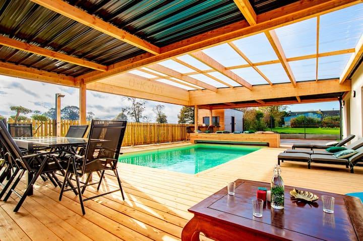 Villa Dré Avec Piscine 22 Personnes Sur La Côte
